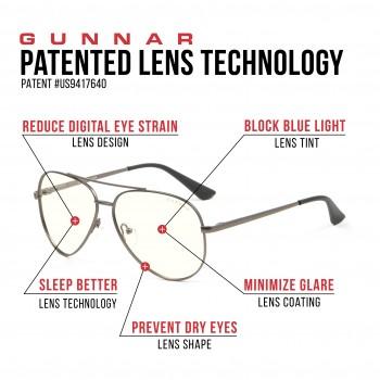 Ochelari Protectie Calculator Gunnar MAVERICK GUNMETAL Clear