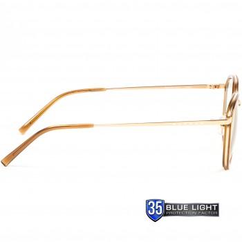 Ochelari Protectie Calculator Gunnar ATHERTON SATIN GOLD Clear