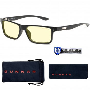 Ochelari de Citit si Protectie Calculator Gunnar VERTEX ONYX Amber +2.50