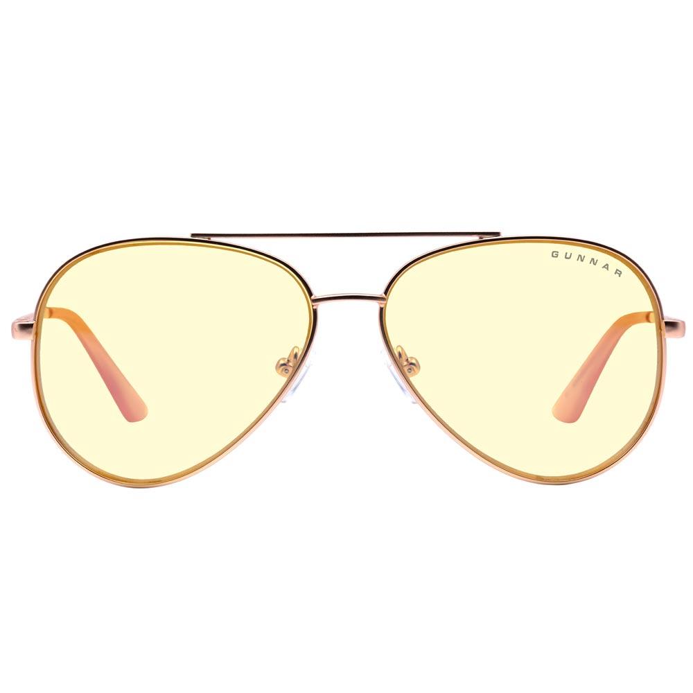 Ochelari pentru Calculator Gunnar MAVERICK Rose Gold Amber